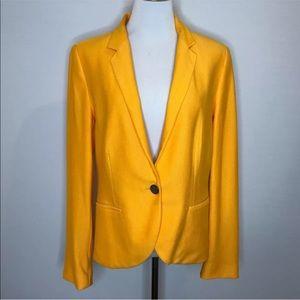 Zara Basic Yellow Gold Blazer